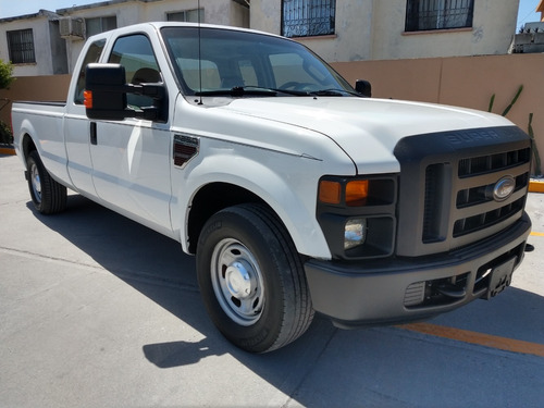 ford f-250 xl s. duty diesel cabina y media caja larga m2010