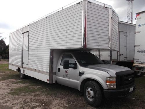 ford f-350  2008 heavy duty con caja mudanzera de aluminio