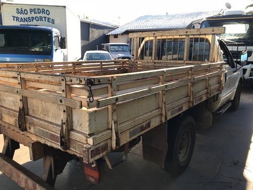 ford f 350 2008/2009 com carroceria  madeira r$ 65.000.