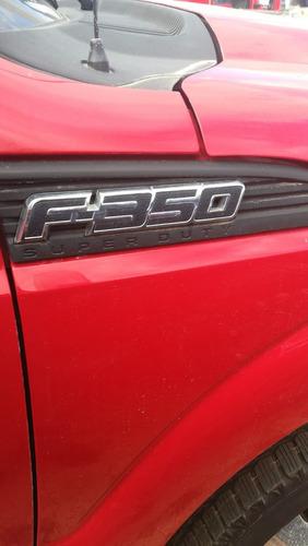 ford f-350 2011 color rojo