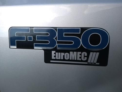 ford f-350 ano 2008/09 baú rodovia 3,30 x 2,20 x 1,80 metros
