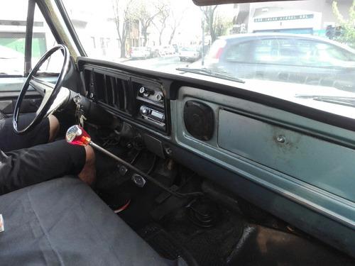 ford f-350 caja termica motor perkins