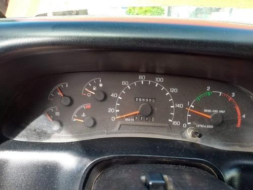 ford f-4000 baú seco 1999 parece okm, pneus novos, novissima