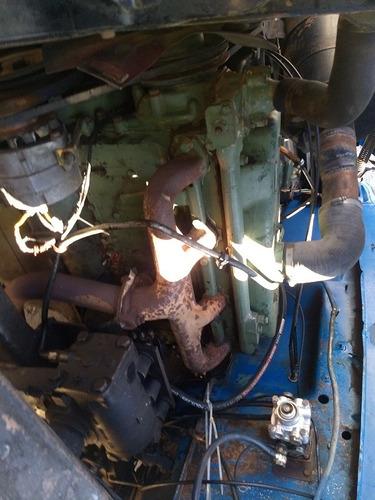 ford - f 600 - caçamba - motor 1113 - freio a ar - ano 1981