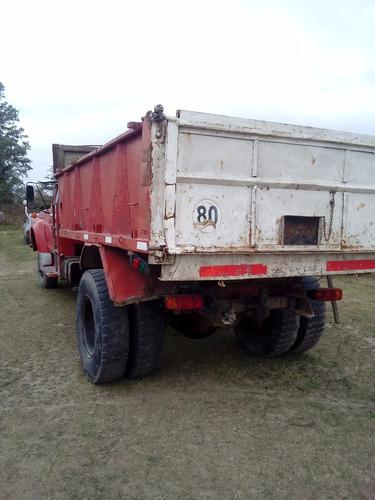 ford f 7000 volcador camion con volcadora