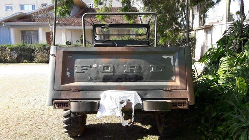 ford f-85 /cachorro louco  f-75 / f85 / rural / f75