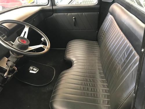 ford f100 1959 preto fosco