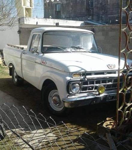 ford f100 1965 motor v8 con gnc
