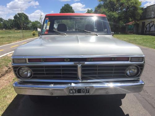 ford f100 1974 1° dueño unica mano original motor 6cil 221