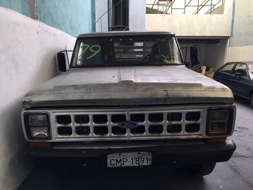 ford f100  ano 1979  gasolina e gnv