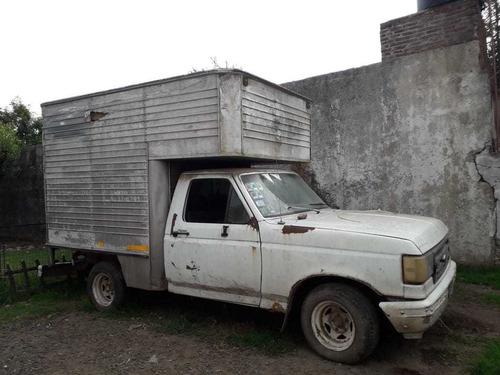 ford f100 caja termica