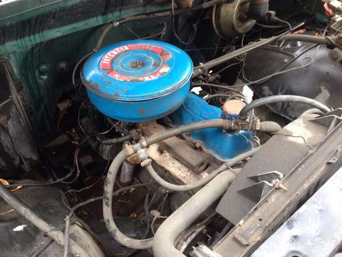 ford f100 carrozada - motor 221 con gnc - oportunidad!