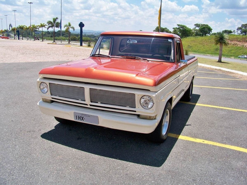 ford f100 hot espetacular 1974