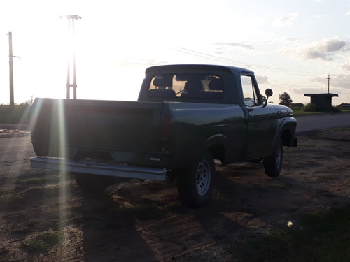 ford f100 mod. 62 v8 impecable!!!