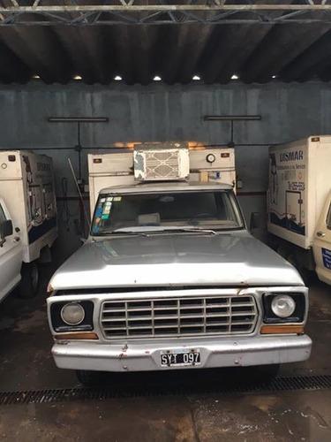 ford f100 perkins 4 diesel... oportunidad caja termica