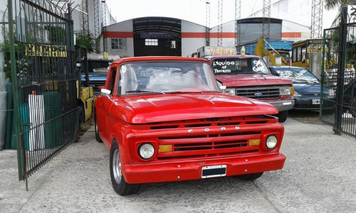 ford f100 twin bean 1966 modificada