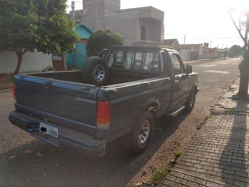 ford f1000 ano 1993 diesel, motor mwm 229 turbinada