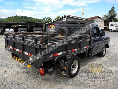ford f1000 mwm direção hidráulica carroceria de madeira 1990