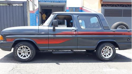 ford f1000 sr turbo + ar ac troca van carro