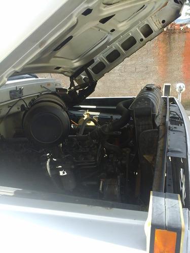 ford f11000 poliguindaste + 1 caçamba - 1990