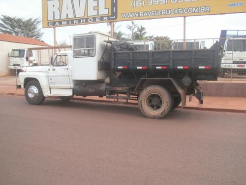 ford f13000 ano 82 toco caçamba (cabine suplementar)
