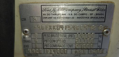 ford f14000- abaixo tabela/ mec. operacional/tomada de força