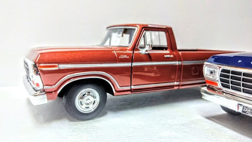 ford f150 1979 pickup  coleccion esc 1:24 metal motormax