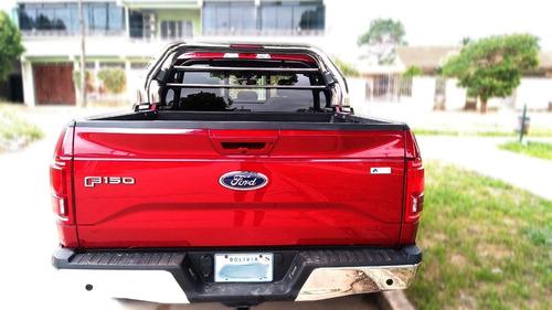 ford f150 4x4 color rojo 4 puertas camioneta