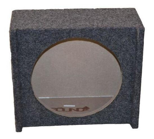 ford f150 downfiring bajo asiento solo 12  subwoofer ca-2784