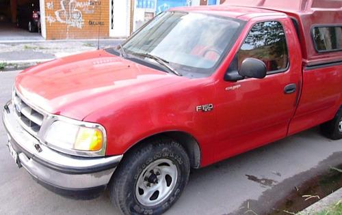 ford f150 xl full 4.2l larga c/gnc 210hp titular impecable