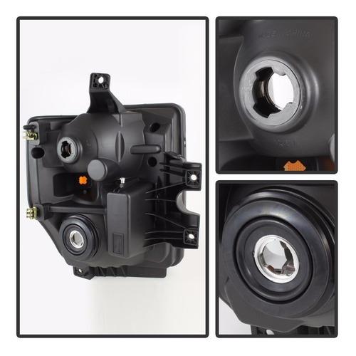 ford f250 f350 f450 2008 - 2010 juego faros con lente claro