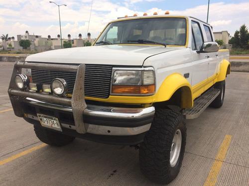 ford f250 xlt heavy duty 4x4 turbodiesel con bloqueos en 2 d