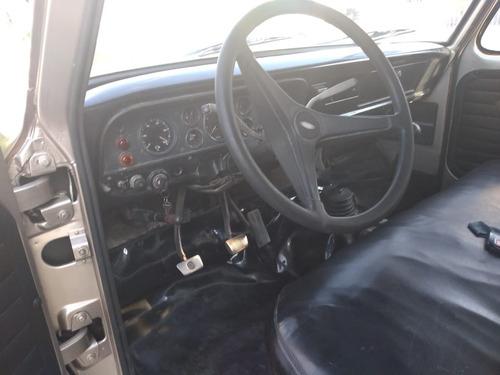 ford f4000 bau de aluminio!!! raridade
