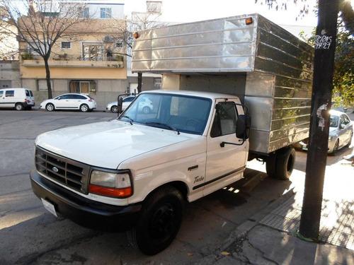 ford f4000 c/ furgon paquetero l/n