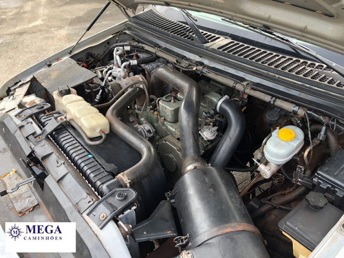 ford f4000 carroceria c/ cab. suplementar