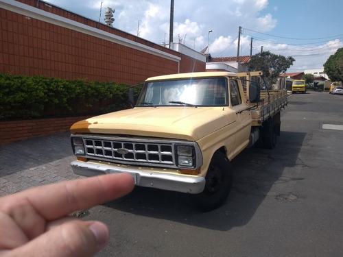 ford f4000 carroceria de madeira