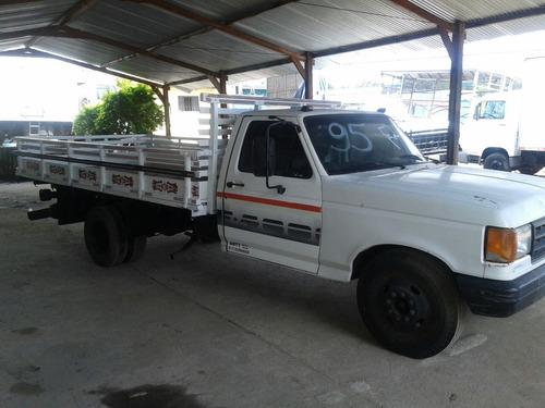 ford f4000 carroceria de madeira ano 1995