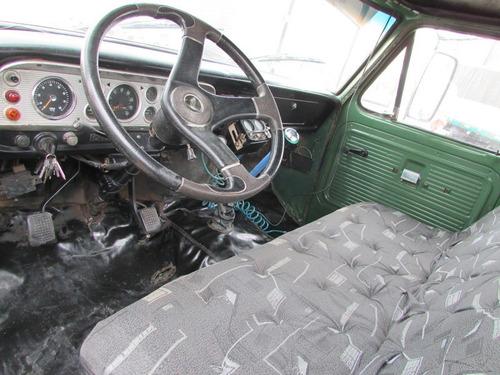 ford f600 4x2 mecânica mb 1518 freio a ar