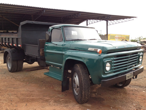 ford f600 basculante 4x2 ano 1975