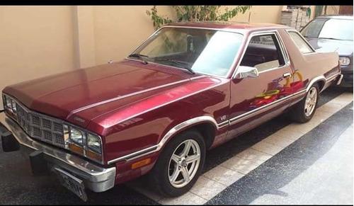 ford fairmont futura coupe v8
