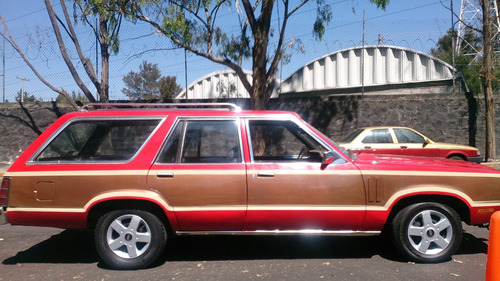 ford fairmont guayin clásico 1981, 5 puertas, automático