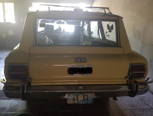 ford falcon 79 con motor bordward turbodiesel 87