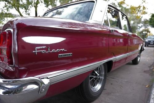 ford falcon deluxe motor 188 año 1976 color granate 4 puerta