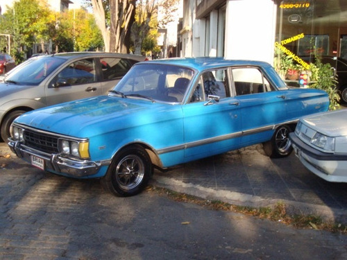 ford falcon deluxe motor 221 original 1974 de coleccion