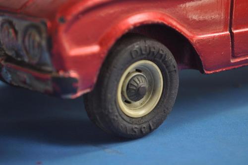 ford falcon n 37 duravit caucho juguete antiguo argentino