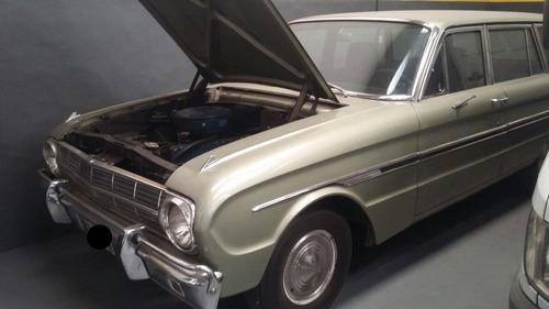 ford falcon rural  coleccion  1969 - único dueño. motor 188