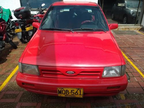 ford festiva rojo 1995