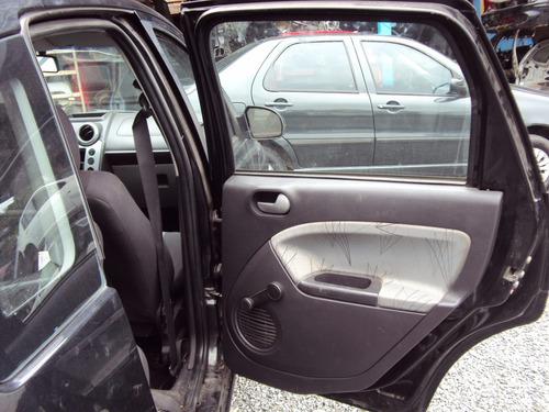 ford fiesta 1.0 8v ano 2008 completo sucata p/ retirar peças