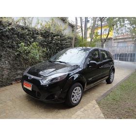 Ford Fiesta 1.0 Flex 5p 2013 Preto Completo Impecavel !!!!!!