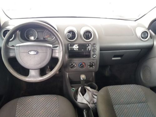 ford fiesta 1.0 supercharger 2005 prata gasolina